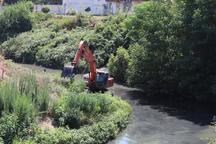 60 کیلومتر از نهرهای شهرستان جویبار لایروبی شد