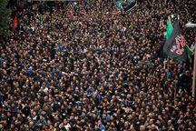 اجتماع بزرگ عزاداران حسینی در اراک برگزار شد