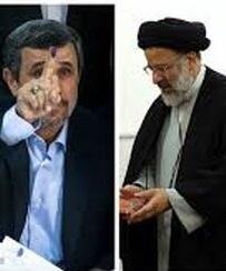 کپی رییسی از روى دست احمدىنژاد