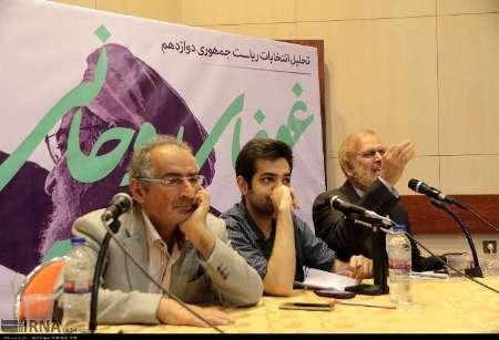 مناظره زیبا کلام و رامین باموضوع تحلیل انتخابات ریاست جمهوری در مشهد