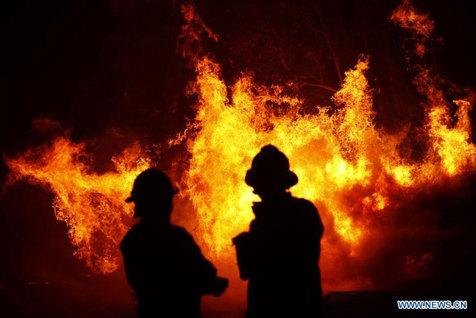 مرگ کارگر جوان در آتش سوزی مغازه