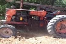 یک دستگاه حفاری چاه غیرمجاز در سنندج توقیف شد