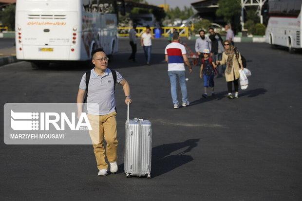 ۶.۷ میلیون گردشگر خارجی امسال وارد کشور شدهاند