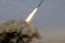 آزمایش موشکی حماس در سواحل دریا