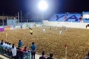 نماینده فوتبال ساحلی ایران در نخستین دیدار خود به مصاف لوانته اسپانیا می رود