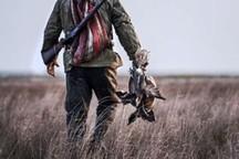 شکارچی غیرمجاز در رفسنجان دستگیر شد
