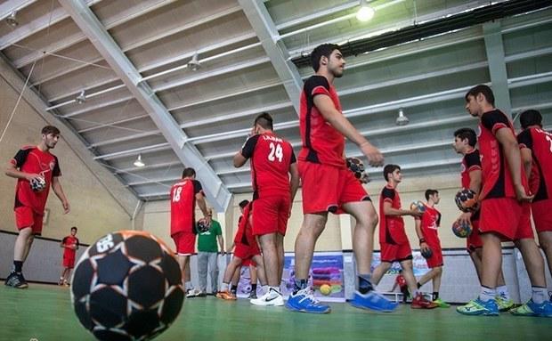 اردوی تیم ملی هندبال نوجوانان در خاتم آغاز شد