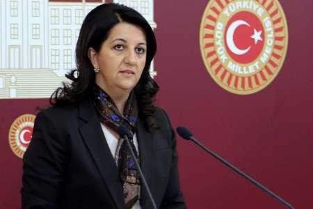 پروین بولدان نایب رئیس پارلمان ترکیه دستگیر شد