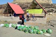 پاکسازی زبالههای کاظم داشی دریاچه ارومیه   عکس