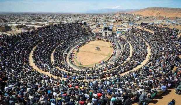 100هزار نفر بازیهای بومی خراسان را تماشا کردند