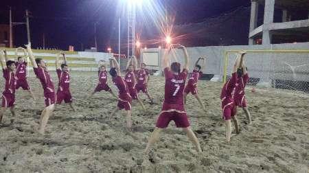 مسابقات فوتبال ساحلی کشور  گلساپوش یزد، یاران اصفهان را شکست داد