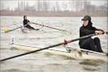 حضور2بانوی گیلانی دراردوی تیم ملی قایقرانی روئینگ ،پایان مسابقه دارت