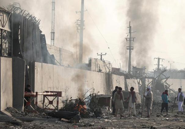 حمله مرگبار دیگر در پایتخت افغانستان+تصاویر