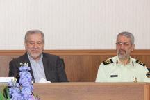استاندار اصفهان: هنر نیروی انتظامی، مردم داری است