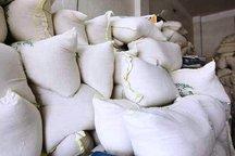 54 تن برنج قاچاق از یک انبار کشف شد