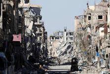 ارتش روسیه برای نخستین بار وارد پایتخت داعش در سوریه شد