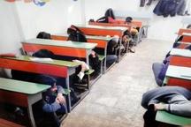 دانش آموزان اولین امدادگران بعد از زلزله در محیط مدرسه