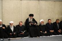 مراسم بزرگداشت آیتالله هاشمی شاهرودی در حسینیه امام خمینی