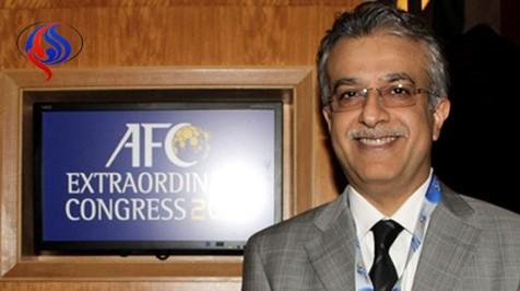 تبریک شیخ سلمان به ایران بابت صعود به جام جهانی ۲۰۱۸