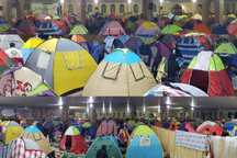 مردم گناوه و دیلم برای از مسافران نوروزی مهمان نوازی کردند