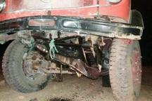 ترس از واژگونی خودرو راننده را به کام مرگ فرستاد