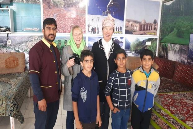جهانگردان از تفرجگاه شلالدون در باشت بازدید کردند
