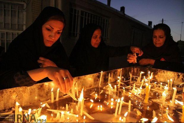 فروغ شمع حاجت در «هفت منبر»