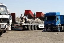 صادرات چند کالا از بازارچه مرزی چذابه ممنوع شد