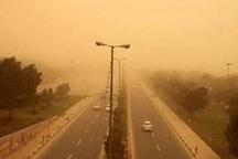 گرد و غبار در حمیدیه 16برابرحد مجاز شد