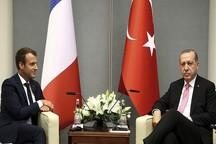 ماکرون: موضع فرانسه درباره اینکه قدس پایتخت مشترک فلسطین و اسرائیل است تغییری نکرده /اردوغان: راهکاری سیاسی بدون حضور اسد پیدا میکنیم