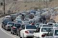 ترافیک سنگین در ورودی مشهد