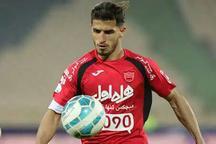 مهاجم تیم پرسپولیس: با گل های بیشتری می توانستیم استقلال خوزستان را شکست دهیم