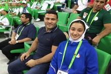 زهرا یزدانی: آروزیم حضور در المپیک است/ حق من بیش از یک طلا در ترکمنستان بود