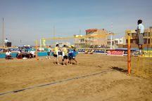 19تیم در مسابقات والیبال ساحلی کشوری حضور دارند
