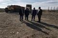 بازدید مدیر کل حفاظت محیط زیست استان از محل دفن زباله شهری و ایستگاه موقت شهرداری اردبیل