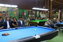 نخستین دوره مسابقات ناین بال بیلیارد خراسان رضوی در مشهد