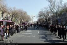 مردم آذربایجان شرقی در سوگ رحلت آخرین پیامبر و شهادت کریمه اهل بیت