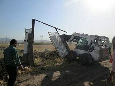 آغاز تخریب ساخت و سازهای غیرمجاز توسط شهرداری قزوین