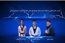 درخشش تکواندوکاران آذربایجان شرقی در مسابقات گرنداسلم چین