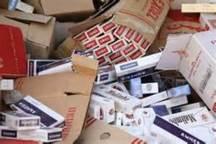 جریمه بیش از یک میلیارد و 200 میلیون ریالی عامل قاچاق سیگار در ابهر