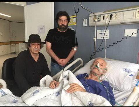 توضیح سام مشایخی درباره طولانی شدن مدت بستری پدرش در بیمارستان