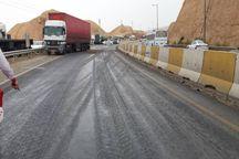 تردد خودروهای سنگین در مسیرهای اصلی ایلام آغاز شد