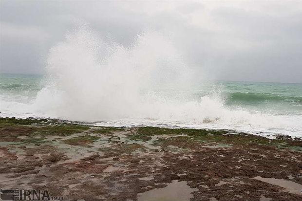 آبهای تنگه هرمز تا روز چهارشنبه مواج است