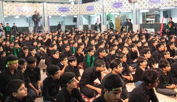 اجتماع نوجوانان عاشورایی در یزد برگزار شد