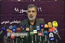 کمالوندی: تصمیمات ایران از جنس محکم و حساب شده است