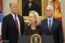 استعفای غیرمنتظره وزیر امنیت داخلی آمریکا به دلیل اختلاف با ترامپ