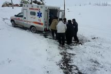 هفت مصدوم سانحه جاده ای به بیمارستان همدان منتقل شدند