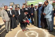 عملیات ساخت دو طرح عمرانی شهرستان مرزی مریوان آغاز شد