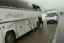 برخورد کامیون با اتوبوس در آذربایجان شرقی 5 مصدوم بر جا گذاشت
