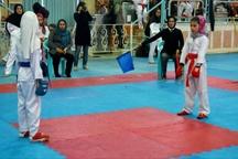 دختران کاراته کار گیلانی در مسابقات انتخابی تیم ملی درخشیدند